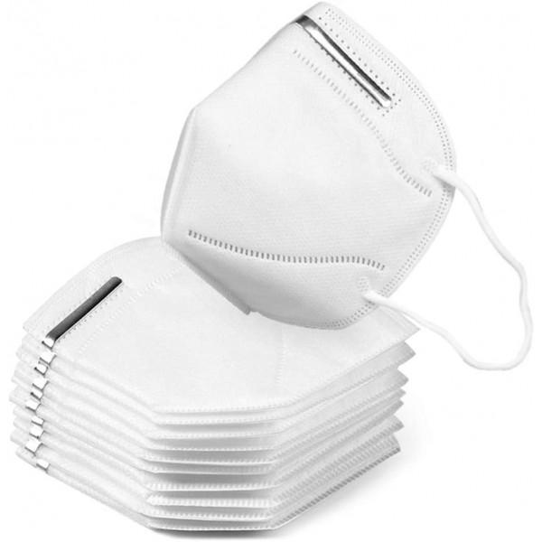 Atemschutzmaske - Mundschutz KN95 10 Stück