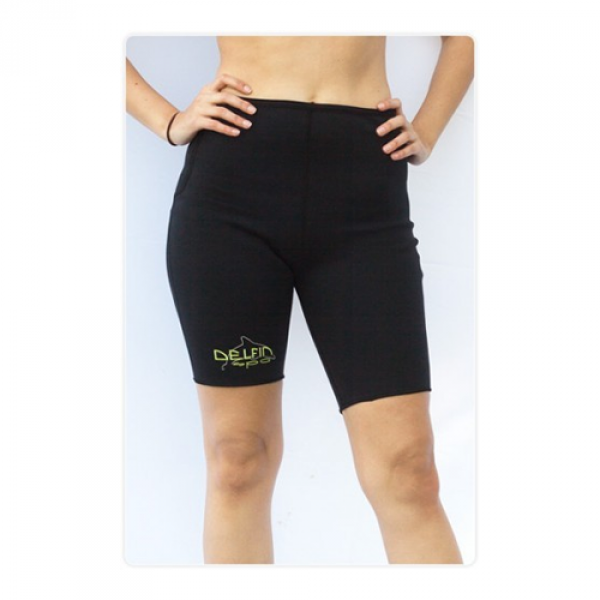 Anti Cellulite Fitness Shorts mit Bio-Ceramik Fasern